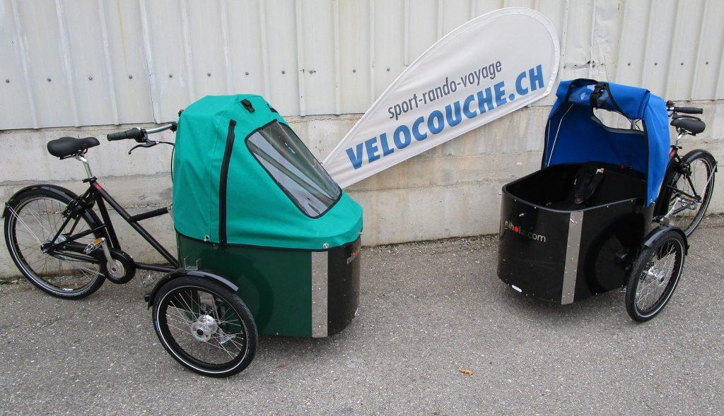 vélo cargo pour le transport