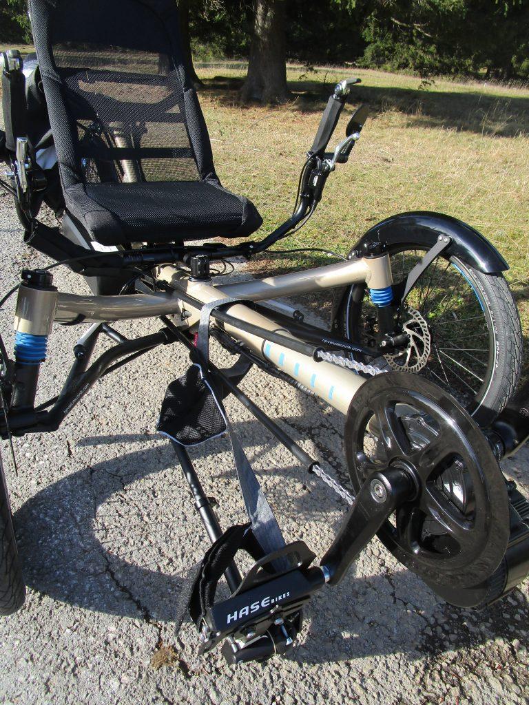 Adaptation de vélo pour le handicap